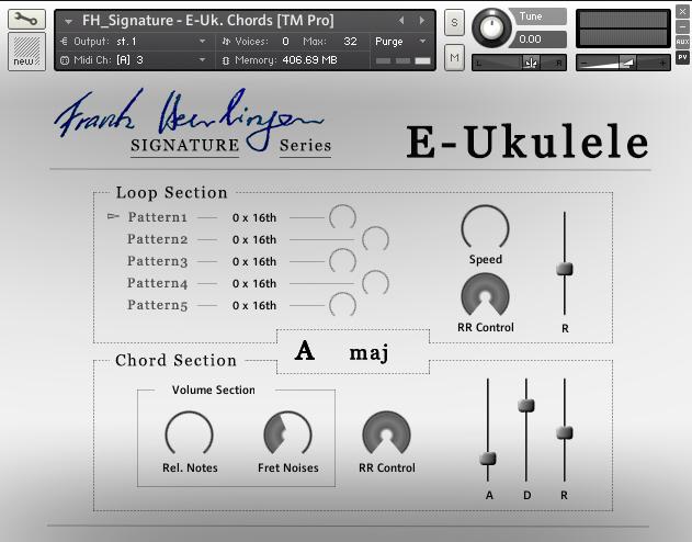 E Ukulele Audiowiesel